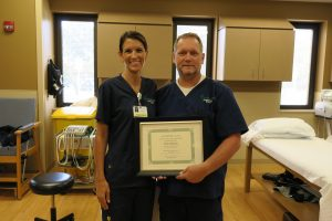 Hospital Honors First PETAL Award Winner