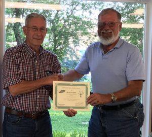 Harry Huber Retires from Board of Trustees