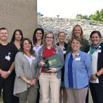Raines Honored with Outstanding DAISY Champion Award