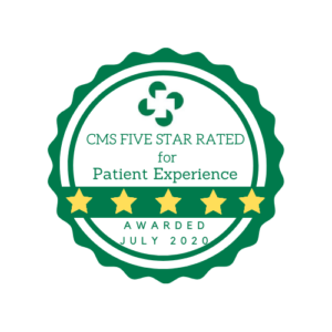 hospitals rated 5 stars by CMS